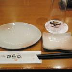 北海道直送 なんな - 食べ始める前のテーブル