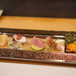 天ぷら割烹 ろく - 江戸前風創作お造り