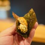 天ぷら割烹 ろく - 牡蠣磯辺
