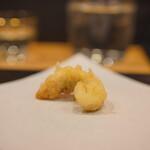 天ぷら割烹 ろく - とらふぐ白子