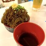 石垣島バルスクスマ - 名物もずくソーメン小(350円)