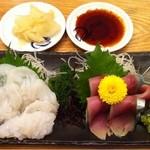 寿司居酒屋 日本海 - 活たこ、シメサバ