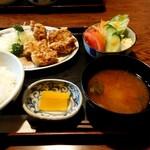 大島亭 - 料理写真:からあげ定食