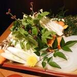 夜景&アクアリウム クラフトビール ラピュタ 蒼天 - お野菜