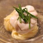 長谷川 稔 - 根室産の鱈の白子のパスタ