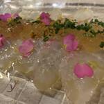 シュリンプバンク - 真鯛のカルパッチョ