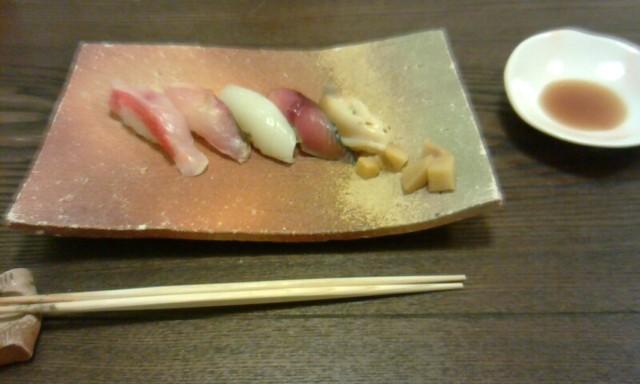 鮨処 匠 - にぎり、生姜、醤油
