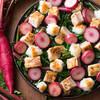 カフェトスカ - 料理写真:美し国「みえの伝統野菜」松阪赤菜とチキンのみぞれ煮