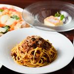 ピッツェリア ドォーロローマ - ハーフ&ハーフ(パスタとピザのセット)