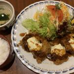 125463460 - 牡蠣フライ定食 1100円