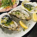 イタリアン酒場「ナチュラ」 - 生牡蠣