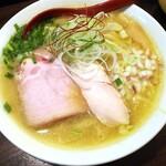 金町製麺 - 鬼北キジの手打ち味噌そば 950円