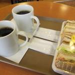 ハースブラウン - コーヒーとサンドイッチ