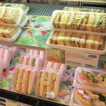ハースブラウン - サンドイッチ