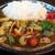 洋酒館 バジェナ - 料理写真:チキンと野菜のカレーライス ~じゃがいも入り~(サラダ・ドリンク付)※メニュー表記のまま