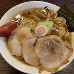麺や 紡 - 大盛り淡成らー麺 850円(2020年2月)