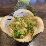 麺や 紡 - チャーシュー丼(2020年2月)