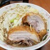 ラーメン二郎 - 料理写真:美しい伊達巻のような神豚❗