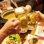 創作とんかつ ケ晴レ - 宴会におすすめの鍋コース