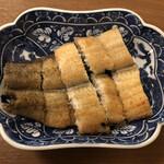 炭焼鰻 土井活鰻 - 白焼半尾