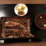 炭焼鰻 土井活鰻 - 鰻一匹極上重