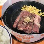92's - 料理写真:ランチ:カットステーキ