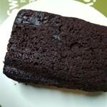 エンドー餅店 - ガトーショコラのような、チョコがんづき¥150