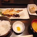 芳志 - あこう鯛の粕漬焼 税込880円