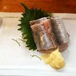 宝山 いわし料理 大松 - 大松名物 泳いでるいわし刺身