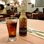 ピッツェリア ラ・チェネッタ - キノット⋆*結構甘いジュースでした