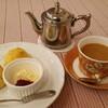 ティーハート - 料理写真:生姜のチャイとスコーン