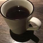 籠乃鶏大山 - ドリンク写真:ウーロン茶(ホット)