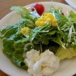 ブレッテリア - サラダバーのサラダ