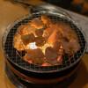 炭火焼肉モック(煙) - 料理写真:ホルモン 焼き焼き