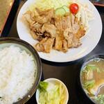 えのもと食堂 - 料理写真:生姜焼き定食
