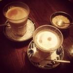 tea room mahisa - 乾杯(笑)