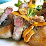 おかず厨房 - 厚切豚の和風ステーキ