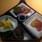 味肴房・田 - ランチ弁当下段
