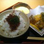 味肴房・田 - ランチ弁当上段