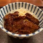 本町酒場 福力 - カルビ丼