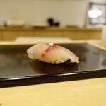 125506000 - [2020/02]寿司⑦ あじの握り