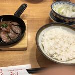 牛たん炭焼き 利久 - みすじステーキ