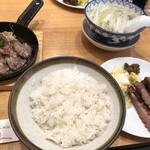 牛たん炭焼き 利久 - 牛たん焼きとみすじステーキ定食