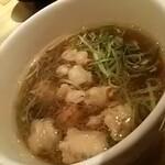 125506737 - つけ麺姫路(醤油)、ホルモン
