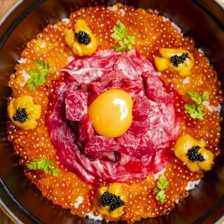 『うしみつ究極のヒレ土鍋ご飯』