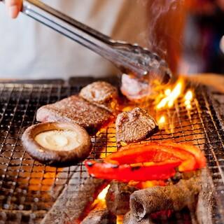 〇●炭火にこだわった焼物料理●〇