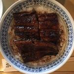 蓬扇 - 鰻丼2100円です