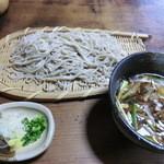 12552299 - 小江戸コース(2000円)_鴨汁蕎麦_2012-04-14
