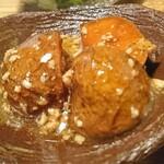 旬彩 ちば食堂 - アスパラ畑のじゃが芋のそぼろ和え