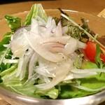 旬彩 ちば食堂 - 野菜サラダ